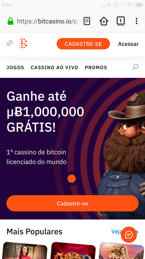 Bitcasino móvil
